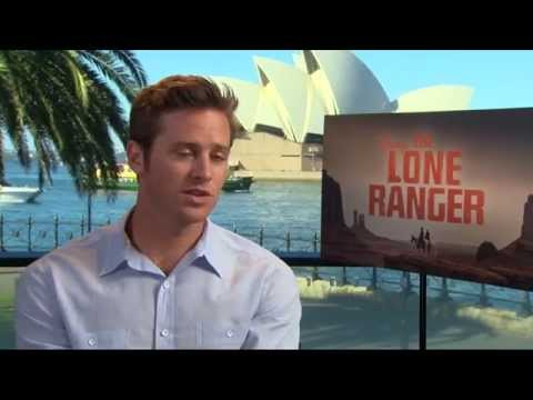 Armie Hammer talks The Lone Ranger and Justice League (The Feed)