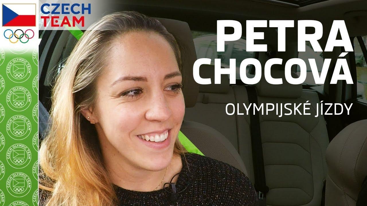 ŠKODA olympijské jízdy s Petrou Chocovou