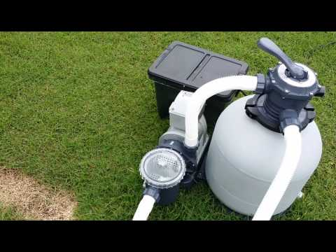 Upgraded above ground pool pump
