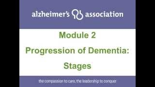 Progression of Dementia: Stages.