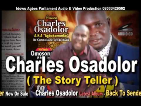 Charles Osadolor Latest Album Back to sender Music Preview