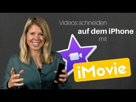 Video schneiden auf dem iPhone mit iMovie