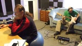 Video HLOUčEK H - Černá A Bílá - 29.11. 2014 - Studio - Nahrávání Bicí