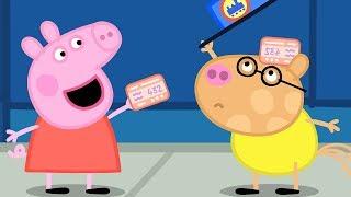 Peppa Pig Português Brasil Completo  O PASSEIO DE TREM   HD 4K  Peppa Pig