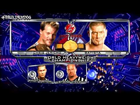 WWE Cyber Sunday 2008 Official And Full Match Card (Old Section)