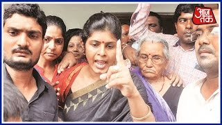 Dayashankar Singh's wife has now replied to the abuses used by BSP party workers during protests. She has spoken to the media about it. Watch the report to ...