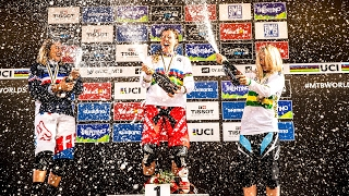 In her first year with Trek Factory Racing Downhill, Rachel Atherton accomplished the unimaginable. She won every UCI World Cup event and the World Champions...