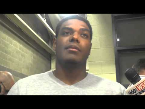 Ronnie Stanley Interview 11/6/2014 video.