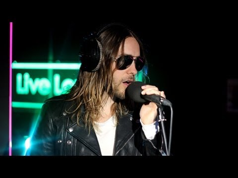 bbc 1 - Thirty Seconds To Mars perform their version of Rihanna's Stay in the Radio 1 Live Lounge for Fearne Cotton. For more from Jared and other exclusive Live Lou...