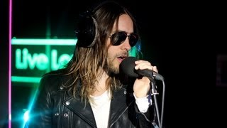 Video Thirty Seconds To Mars - Stay (Rihanna) in the Live Lounge MP3, 3GP, MP4, WEBM, AVI, FLV Desember 2018