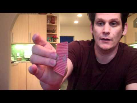 MAGIC REVEALED – Sleight of Hand – Snatching a Card Out of the Air