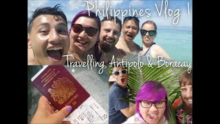 Antipolo Philippines  city photos : PHILIPPINES VLOG 1 - Travelling, Antipolo & Boracay