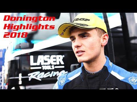 Laser Tools Racing - Donington BTCC Highlights with Aiden Moffat