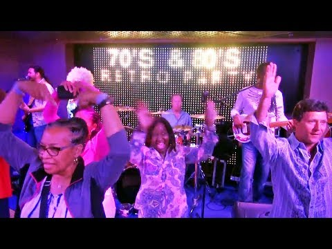 Retro 70s 80s Night on the Grand Celebration Cruise