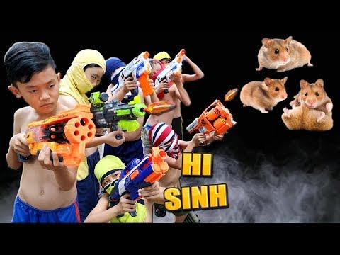 Tony | Tình Nghĩa Giang Hồ - Nerfwar Gangster Steal Hamster - Thời lượng: 10 phút.