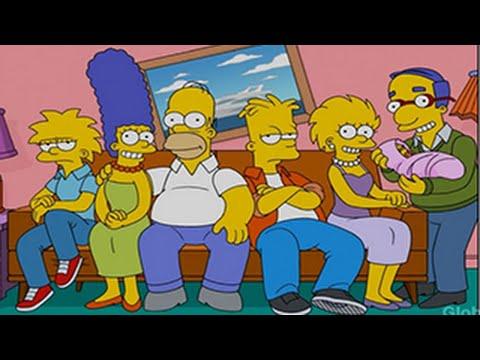 Cómo se verían Los Simpson si envejecieran año con año | Cine y Series