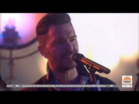 "Andy Grammer Sings ""Don't Give Up On Me"" Live In Concert Today Show April 17, 2019 Five Feet Apart"