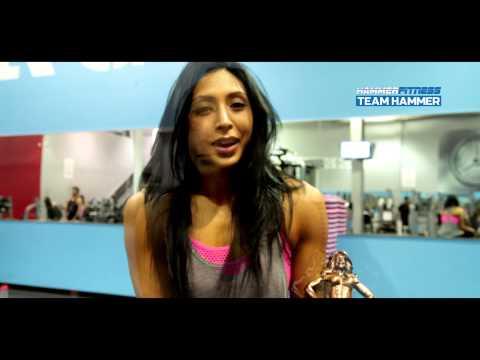 Hammer Fitness Bikini Athlete Alysha Jamal Testimonial- Flexible Dieting