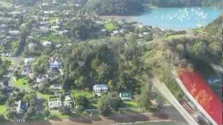 Russell New Zealand  city images : Russell Bay of Islands New Zealand Aerial View