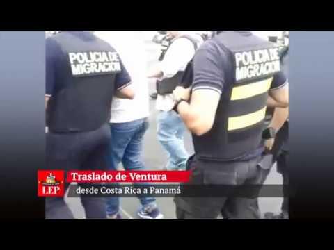 Ventura Ceballos es trasladado a Panamá y tendrá que enfrentar la justicia