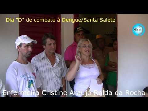Santa Salete no combate contra Dengue dia