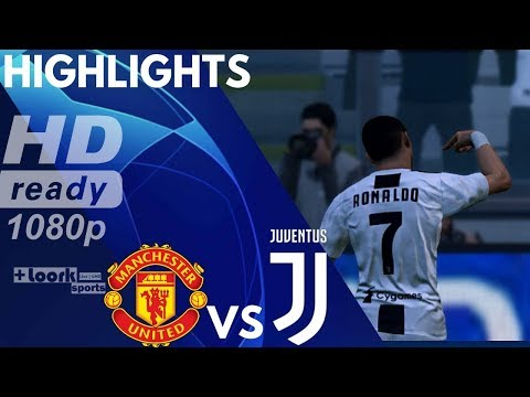 Manchester United vs Juventus - Resumen Goals & Extended Highlights   Champions League 2018/19