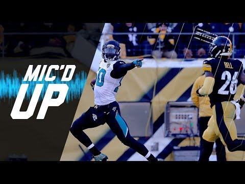 Video: Mic'd Up Jaguars vs. Steelers Divisional Round