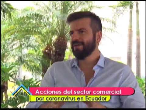 Acciones del sector comercial por coronavirus en Ecuador