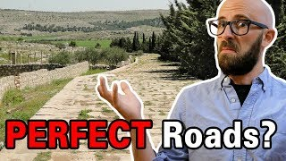 How Did the Ancient Romans Manage to Build Perfectly Straight, Ultra Durable Roads?