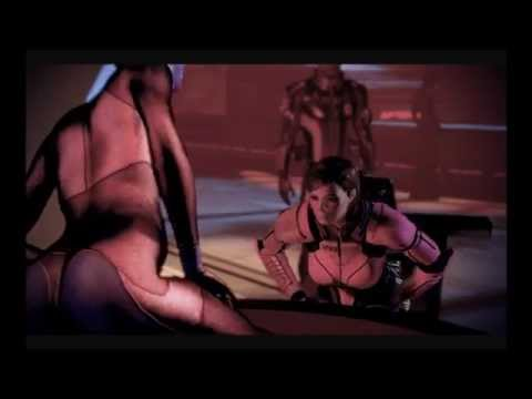 Mass Effect 2: Full Garrus Romance with Blondie Shepard - YouTube