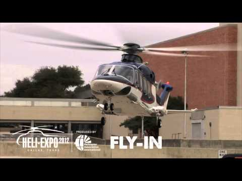 helicopter - Here is a look at some of the aircraft arrivals at HELI-EXPO 2012 in Dallas, Texas.