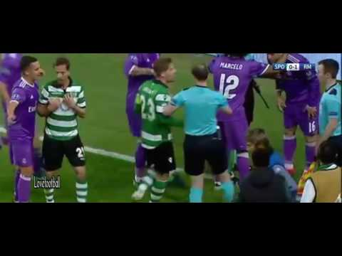 Cristiano Ronaldo VS Sporting Lisbon - Sporting Lisboa Vs Real Madrid 1-2 All Goals & Highlights