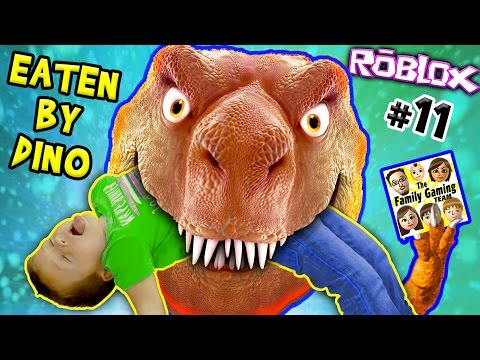 HE ATE MY KID ☠ DINOSAUR SIMULATOR ROBLOX #11 😭 FGTEEV Father Vs Son Survival Challenge + Revenge