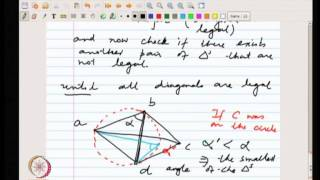 Mod-08 Lec-19 Delaunay Triangulation.