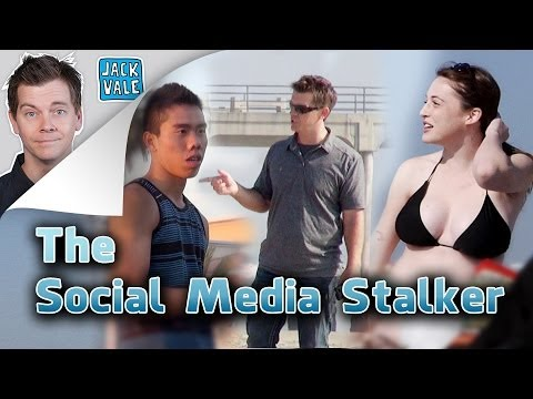 'Social' - I stalked people at the beach by researching their social media profiles. Here's the video series I did for Microsoft! http://www.microsoft.com/onlinesafety ...