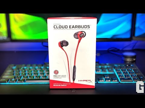 New Hyperx Cloud Gaming Earbuds Review