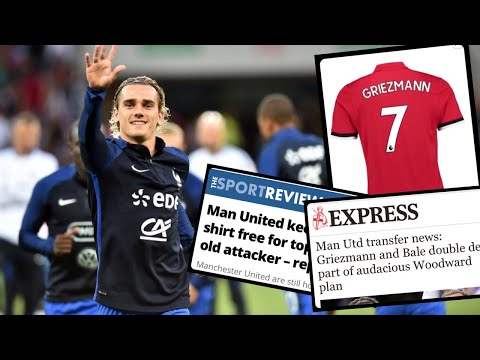 MANCHESTER UNITED SET ASIDE £100MILLION FOR FUTURE ANTOINE GRIEZMANN TRANSFER