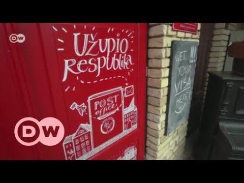 Litauen: Uzupis - die kleinste Republik der Welt in der Mitte von Vilnius | DW Deutsch