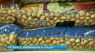 Preço do feijão sobe mais de 19% em um ano