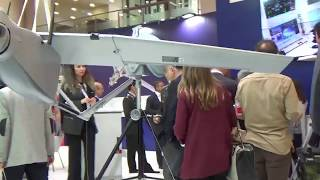 Bayraktar İHA insansız hava aracı. IDEF 2017 den izlenimler.