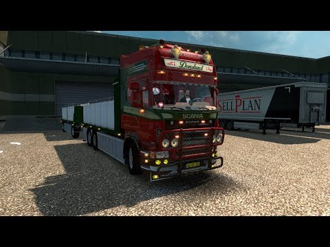Scania R560 Donslund + Trailer (1.28)