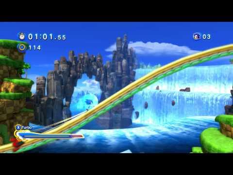 Sonic Generations Speed Run 1:43:13 [720p HD] (видео)