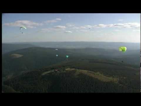 galerie Macskola paragliding video
