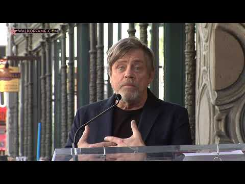Mark Hamill Walk of Fame Ceremony
