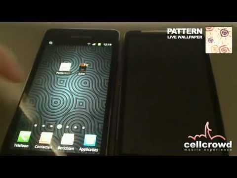 Video of Pattern Live Wallpaper