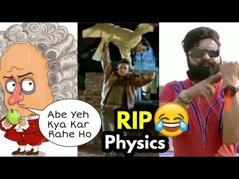 Funny movies - RIP Physics Scenes In Bollywood And Tollywood Movie  Funny Video  Memes