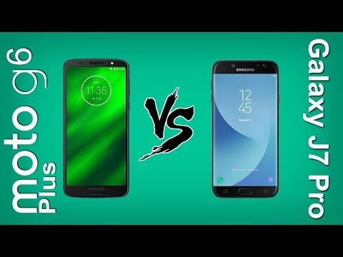 Tudocelular - Moto G6 Plus Vs Galaxy J7 Pro [RAP - COMPARATIVO]
