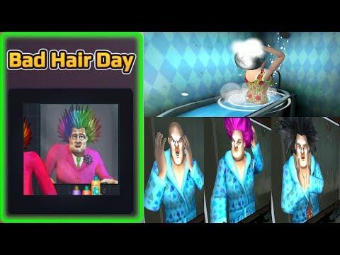 Episode 9 : Bad Hair Day कांचा चीना Scary Teacher 3D Funny Horror Gameplay