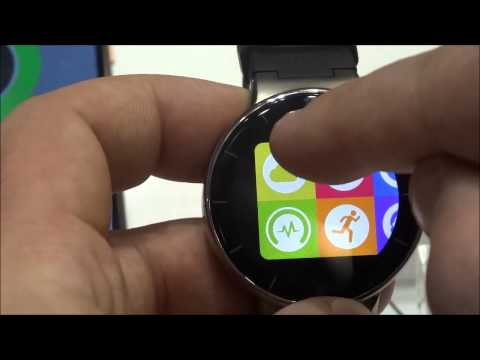 Alcatel OneTouch Watch, video anteprima dal MWC 2015