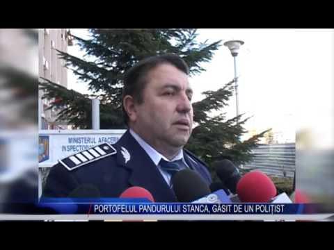 PORTOFELUL PANDURULUI STANCA, GĂSIT DE UN POLIȚIST